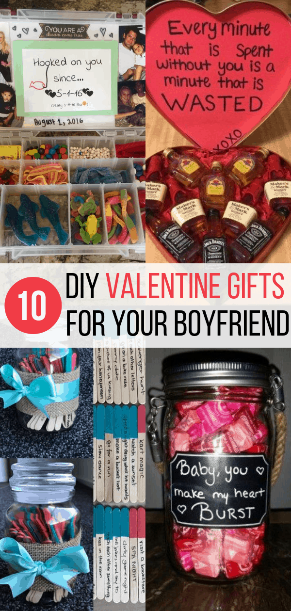 10 Diy Valentine S Gift For Boyfriend Ideas Inspired Her Way