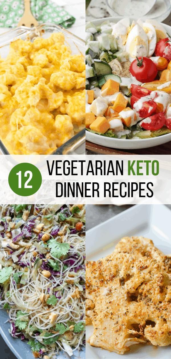 Vegetarian Keto Recipes for Dinner