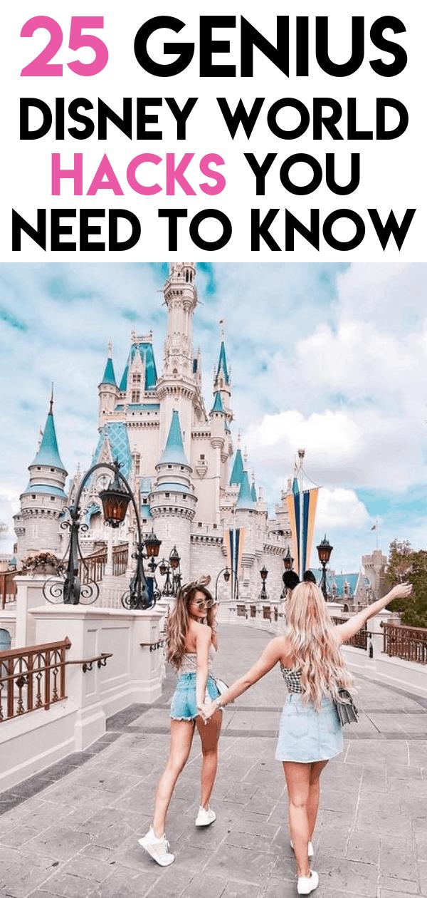 25 Genius Disney World Hacks